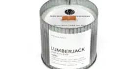 Lumberjack Rustic Vintage Candle