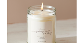 Everything Will Be Okay Candle