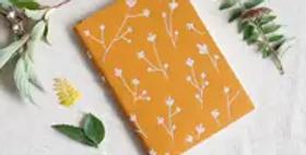 Samantha Embroidered Layflat Journal
