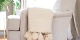 Boucle Woven Throw