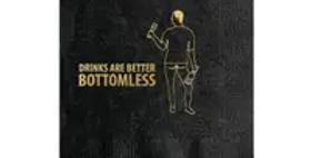 Bottomless Drinks Cocktail Napkin