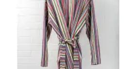 Handwoven Cotton Jacket - Rainbow