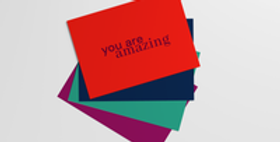 """""""you are"""" postcards"""