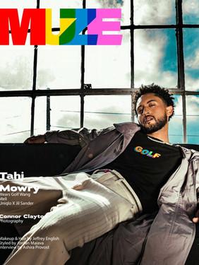Tahj Mowry - Muze Magazine Cover Story