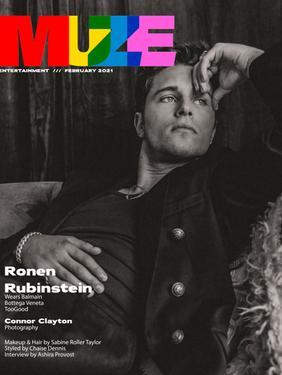 Ronen Rubinstein - MUZE Magazine Cover Story + Interview