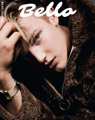 Bello Magazine Cover - David Snyder by Connor Clayton
