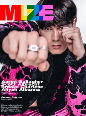 Scott Albrecht - MUZE Magazine Cover Story