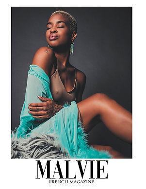 Shai'La Yvonne for MALVIE Magazine The Artist Edition Vol 1 by Connor Clayton