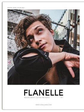 Ricky Garcia - Flanelle Magazine Cover Story
