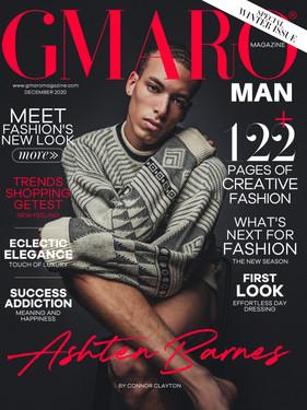 Ashten Barnes - GMARO Magazine Cover Story
