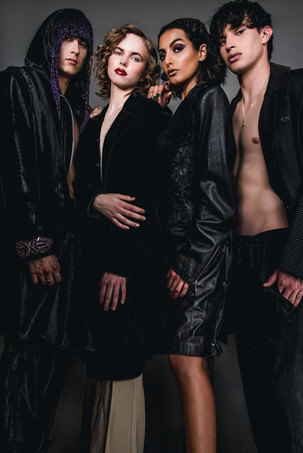 Scott Albrecht, Brooke Charlese, Aliyah Albanna, & Aaron Gallagher of O Models & NTA Models by Connor Clayton