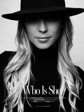 Heather Haynes - PUMP Magazine Editorial Story