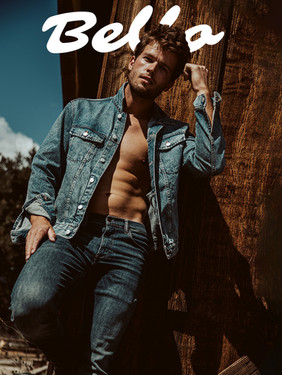 Jacob Fowler - Bellow Magazine Style Edition Cover + Spread