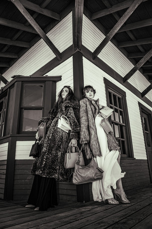 Brooke Charlese & Chrisy Bori of O Models & Aston Models by Connor Clayton