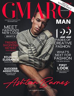 GMARO Magazine Cover - Ashten Barnes by Connor Clayton
