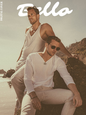 James Eysenbach & David Walsh - Bellow Magazine Style Edition Cover + Spread