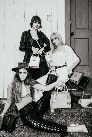 Brooke Charlese, Chrisy Bori, & Alexis Gates of O Models & Aston Models by Connor Clayton