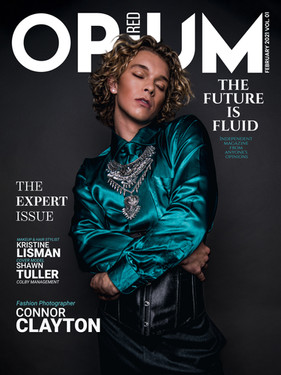 Shawn Tuller - Opium Red Magazine Cover Story