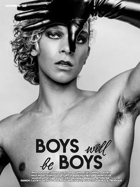 Shawn Tuller - Boyfriend Magazine Editorial Story