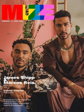 James Shipp & Marcos Reis - Muze Magazine Cover Story
