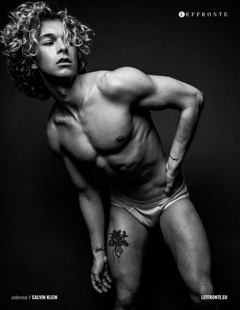 Shawn Tuller for L'effronte Magazine by Connor Clayton - Gender Fluid Fashion