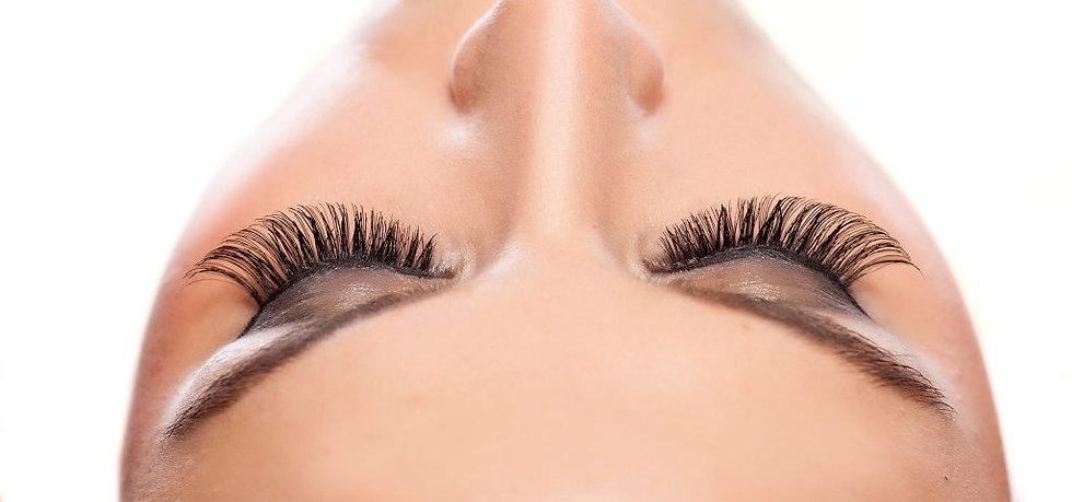 eyelash extensions at Salon CoCo BOND SPA in Shrewsbury, NJ