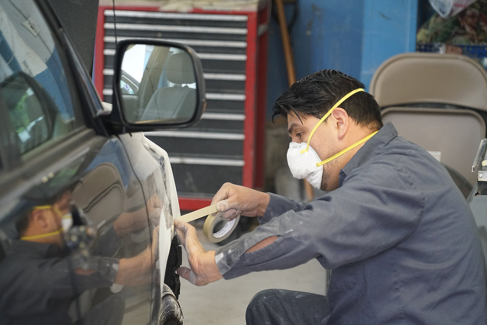 Auto Pro Collision - Auto Body Shop Process