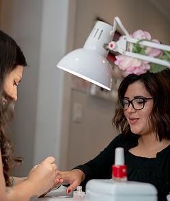 Mani and pedi - Salon CoCo BOND Spa, Hair salon in Shrewsbury, New Jersey