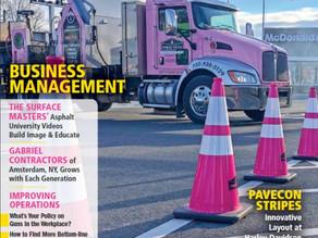 Pavement Maintenance & Reconstruction Cover (MAGAZINE)