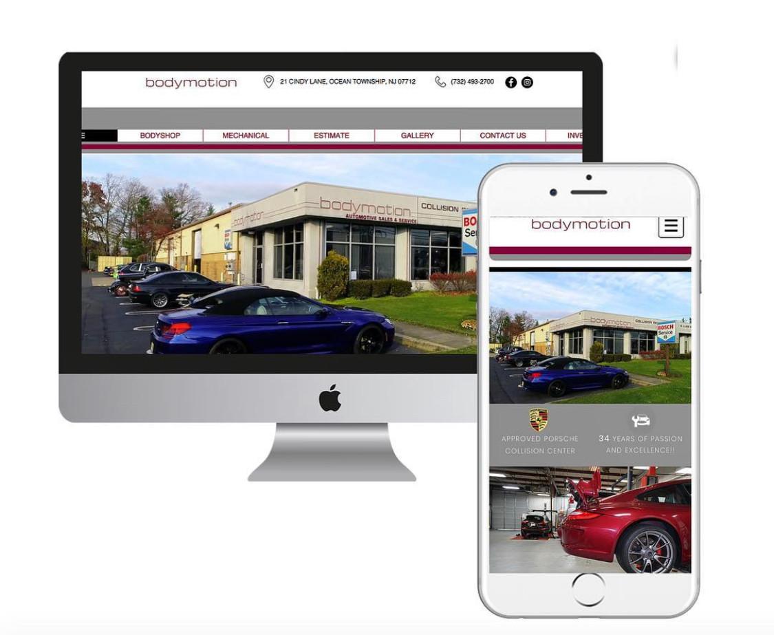 Smart Marketing website design services