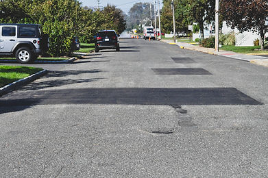 Before & After Failed Roads Repaired In
