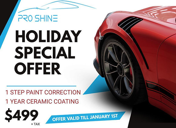 Holiday Special Offer