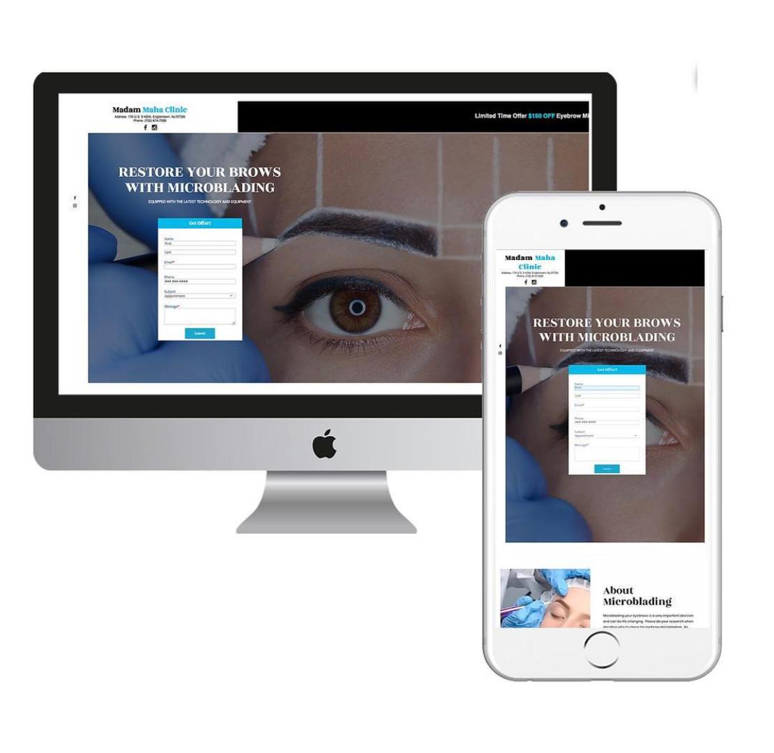 Smart Marketing Website Design