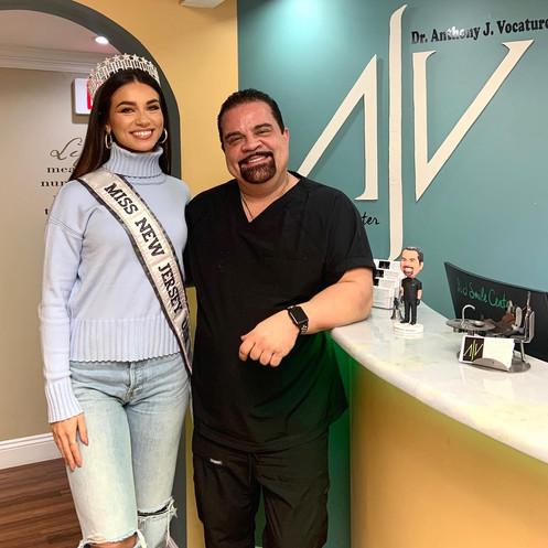 Miss NJ Celebrities Smile NJ Smile Center in Colts Neck, New Jersey