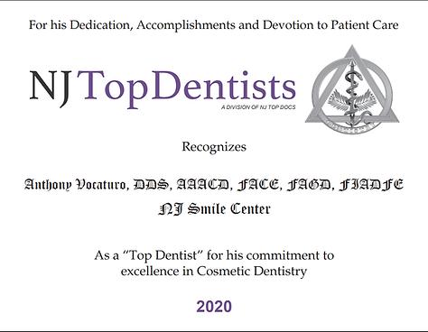 NJ Top Dentists Dr. Anthony J. Vocaturo in Colts Neck, NJ