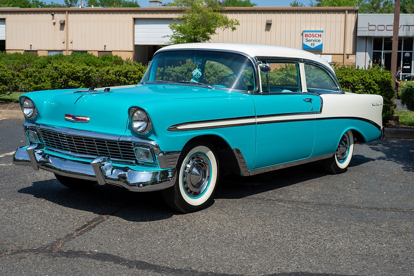 1956 Chevrolet Bel Air Post Coupe
