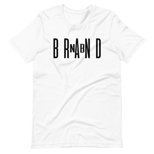 Brand NB Logo Black Short-Sleeve Unisex T-Shirt