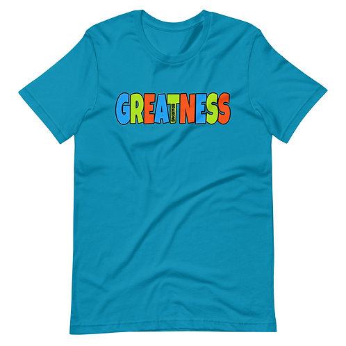 GREATNESS Brand NBShort-Sleeve Unisex T-Shirt