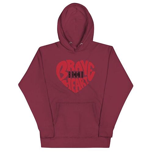 Brave Heart Unisex Hoodie