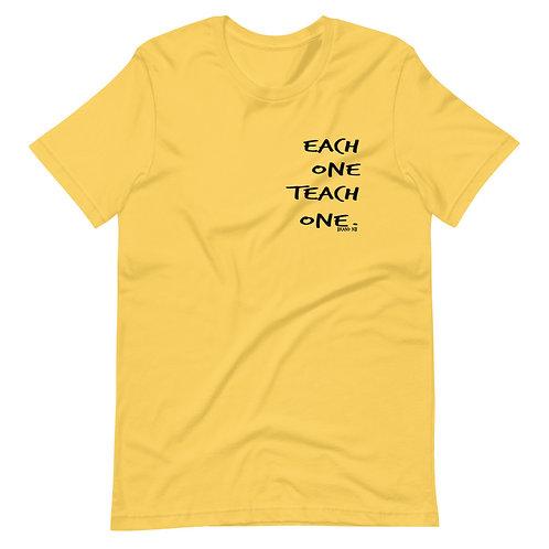 each one teach one Short-Sleeve Unisex T-Shirt