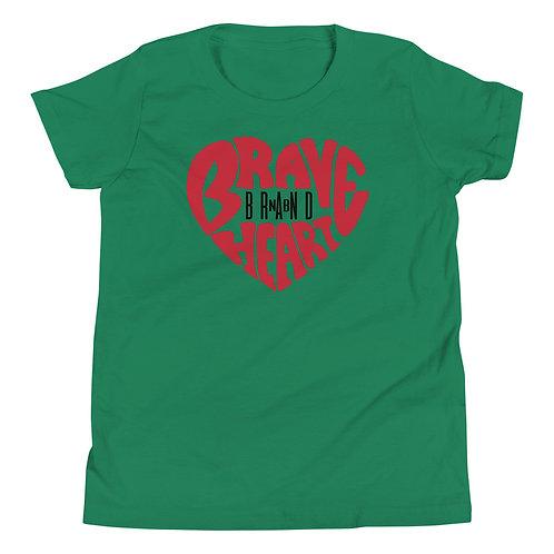 Brave Heart Youth Short Sleeve T-Shirt