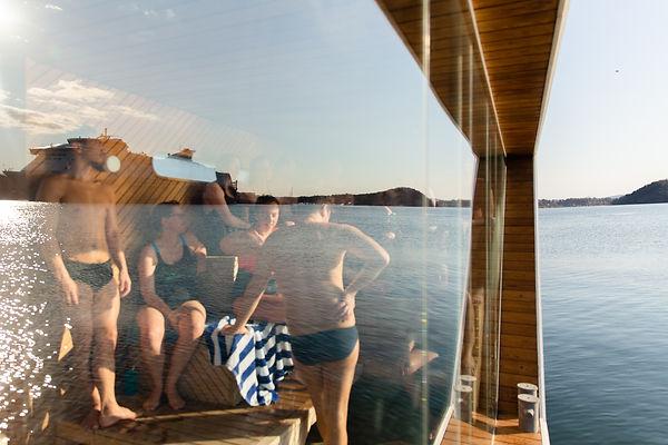 Oslo Fjord Sauna Sørenga Badstuflåte