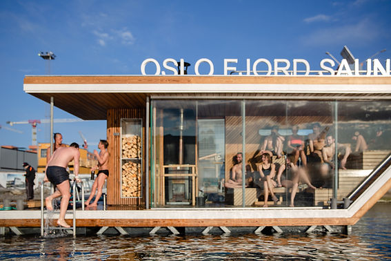 Oslo Fjord Sauna Sørenga Badstuflåt