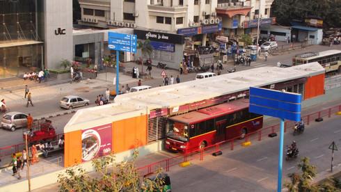 Bus Shelter - BRTS Surat