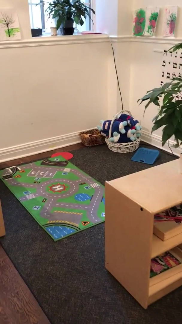 set up of a Toddler pre primary class