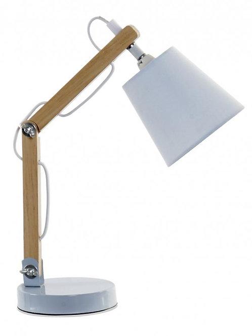 LAMPARA SOBREMESA AZUL 24X12X24,5