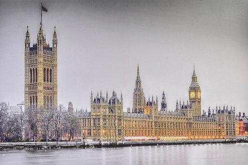 Cuadro lienzo Londres 150x100cm