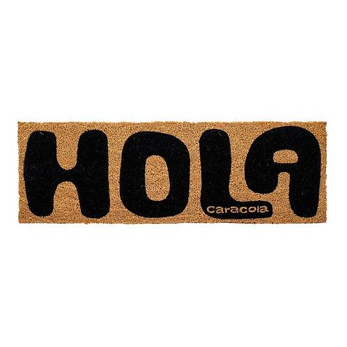 FELPUDO HOLA 75X35