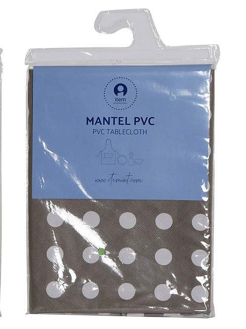 MANTEL RECTANGULAR MARRÓN 180X240