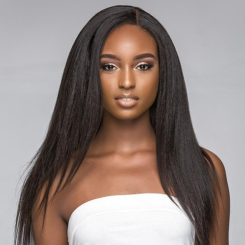 Pure Lux Kinky Straight Brazilian Hair Extensions